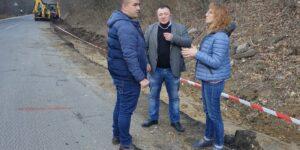 Народният представител Ася Пеева провери на място ремонта на Айтоския проход