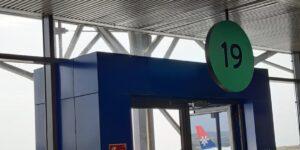 """Топло посрещане в Солун на първите пътници по новата линия на """"България Еър"""" от София до Солун"""