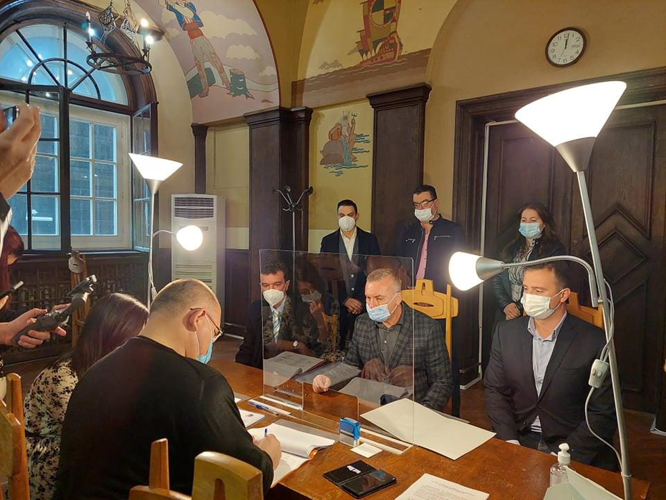 ГЕРБ регистрира листата си в Бургас